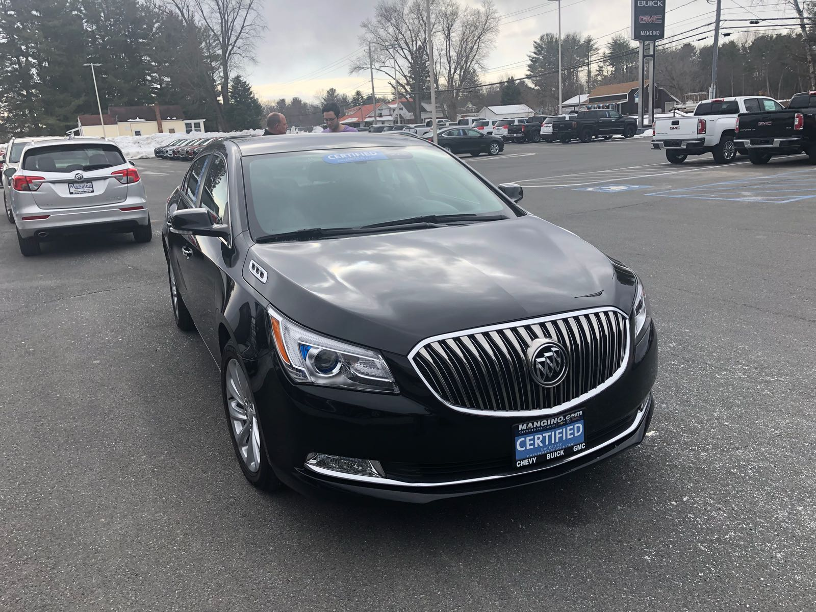 485 Luxury Black Car Uber Black Buick Lacrosse For Rent